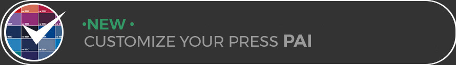 New, customize your press